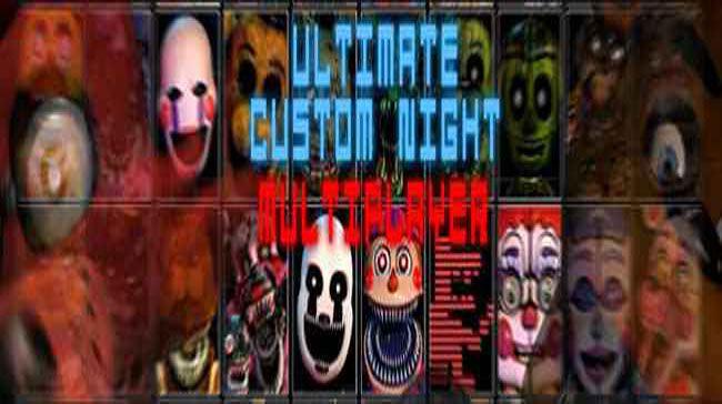 FNaF Ultimate Custom Night: Multiplayer download for pc