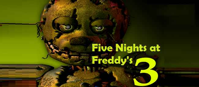 Five Nights at Freddy's 3 APK For Android Free Download