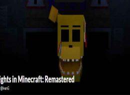 Five Nights in Minecraft: Remastered Free Download