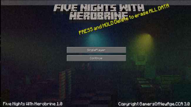 Five Nights With Herobrine Free Download
