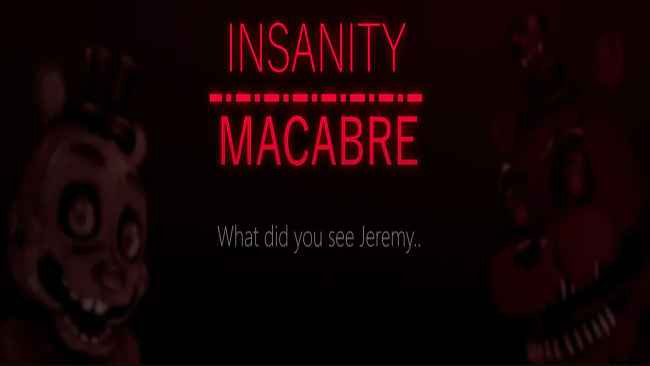 INSANITY - MACABRE Free Download