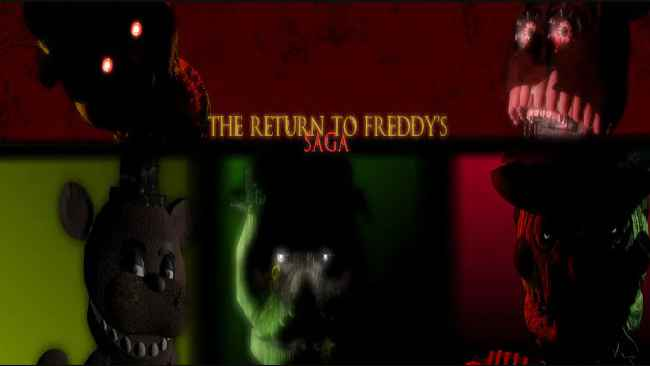 The Return To Freddy's Saga Free Download