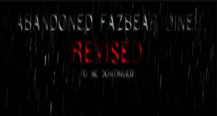 Abandoned Fazbear Diner [OUTDATED_REMAKE] Free Download