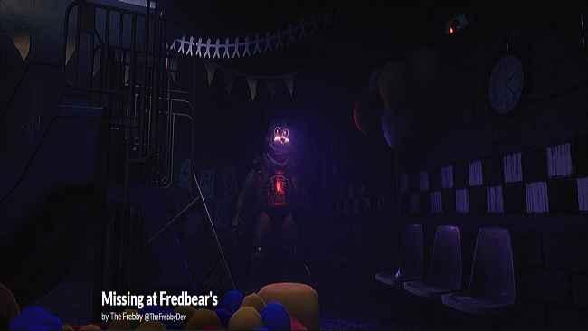 Missing at Fredbear's Free Download