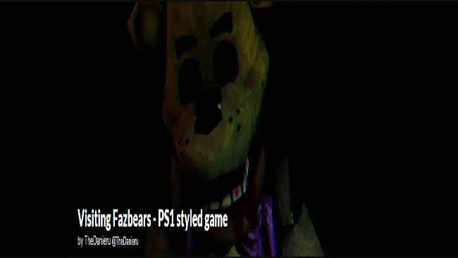 Visiting Fazbear's - PS1 styled game Free Download