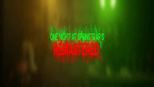 One Night at SpringTrap's | Remastered Free Download
